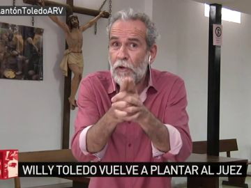Willy Toledo en Al Rojo Vivo