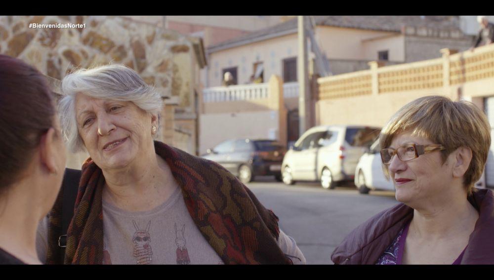 Isabel y Rosario, en Bienvenidas al norte