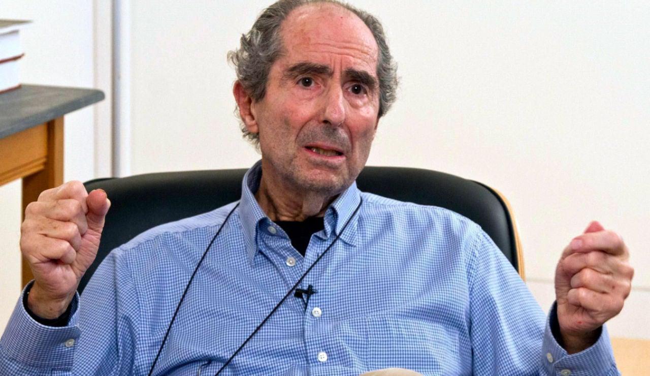 El escritor estadounidense Philip Roth