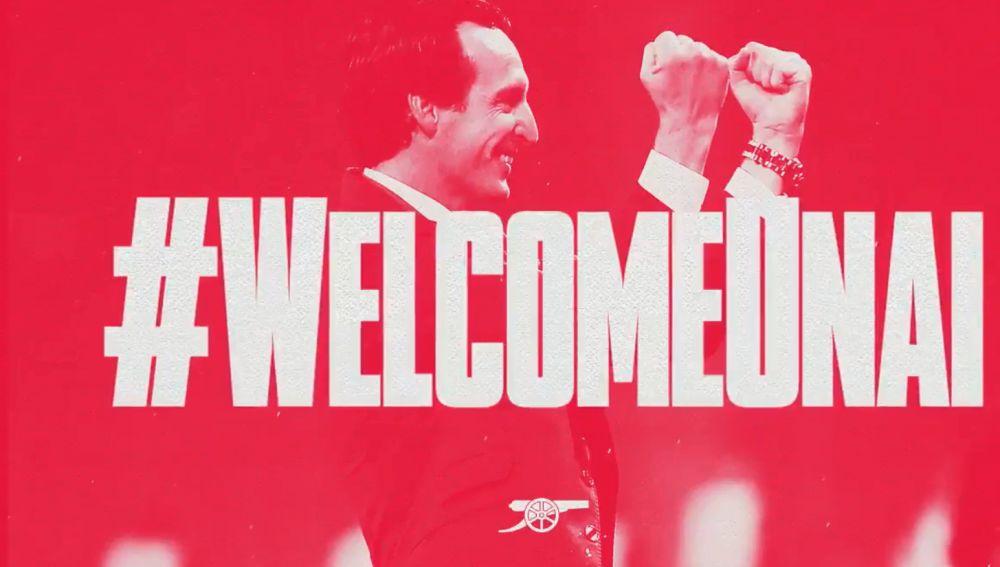 Unai Emery, nuevo técnico del Arsenal
