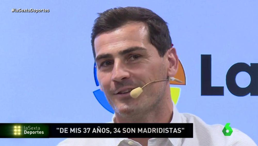 """Casillas: """"A todos nos habría gustado una despedida como la de Iniesta"""""""