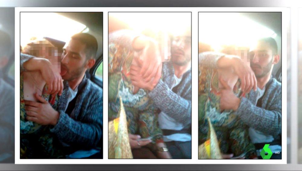 Imagenes de la agresión de 'La Manada' a una joven en Pozoblanco