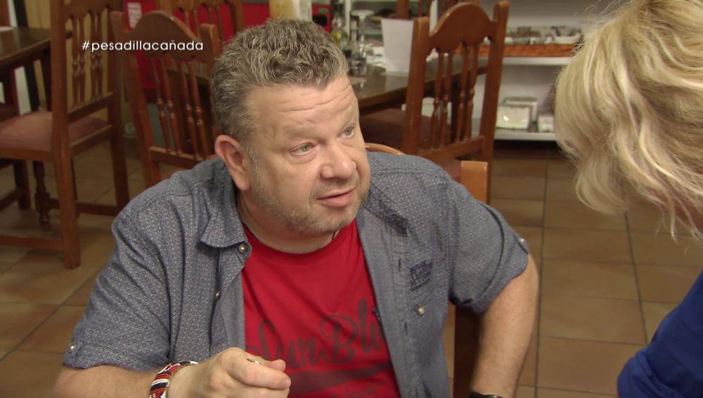 Alberto Chicote y Nati en Pesadilla en la cocina: A Cañada