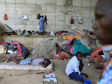 Migrantes en Argelia