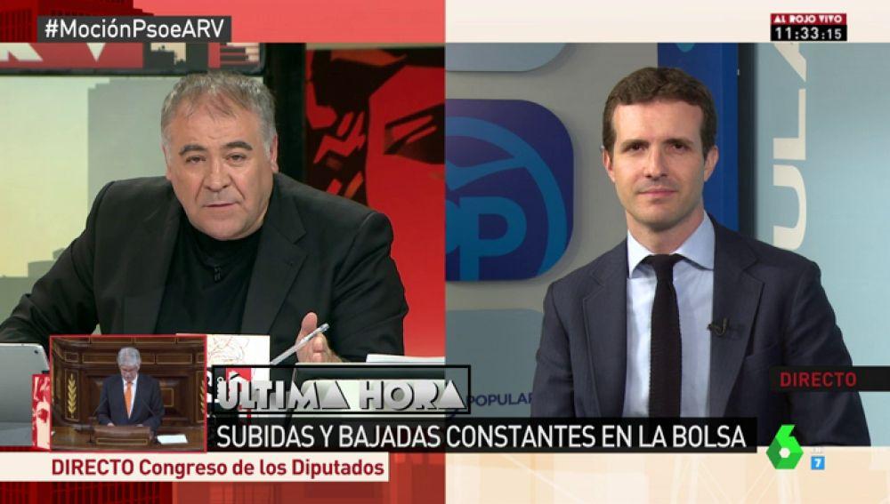 """Pablo Casado: """"Unas terceras elecciones en dos años y la inestabilidad en plena aplicación del 155 no le van bien a España"""""""