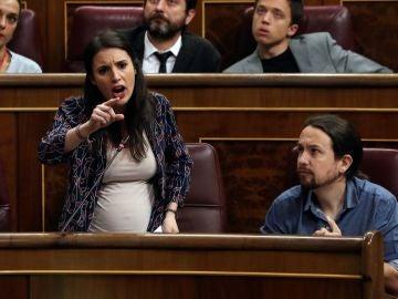Irene Montero en el Congreso de los diputados