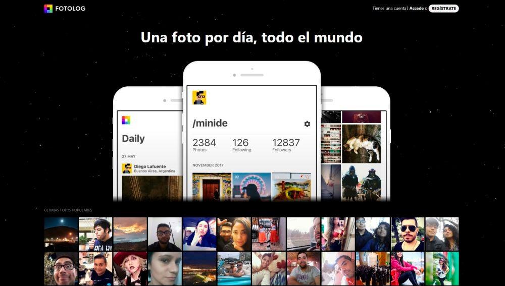 Regresa Fotolog en versión app