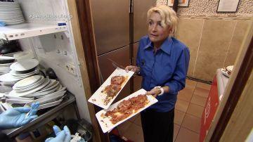 Nati en Pesadilla en la cocina: A Cañada
