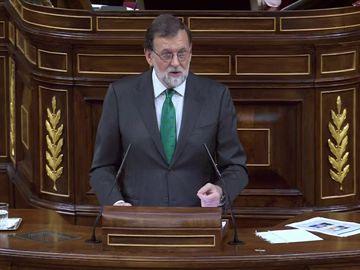 Los zascas de Rajoy a Sánchez sobre Podemos