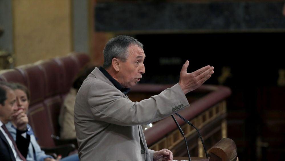 Joan Baldoví, en el Congreso