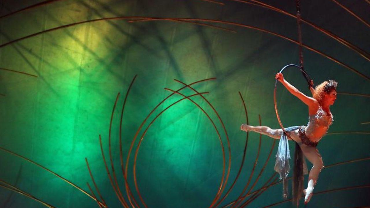 Espectáculo de Cirque du Soleil (Archivo)
