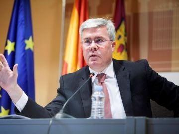 En la imagen, el secretario de Estado de Hacienda, José Enrique Fernández de Moya (Archivo)