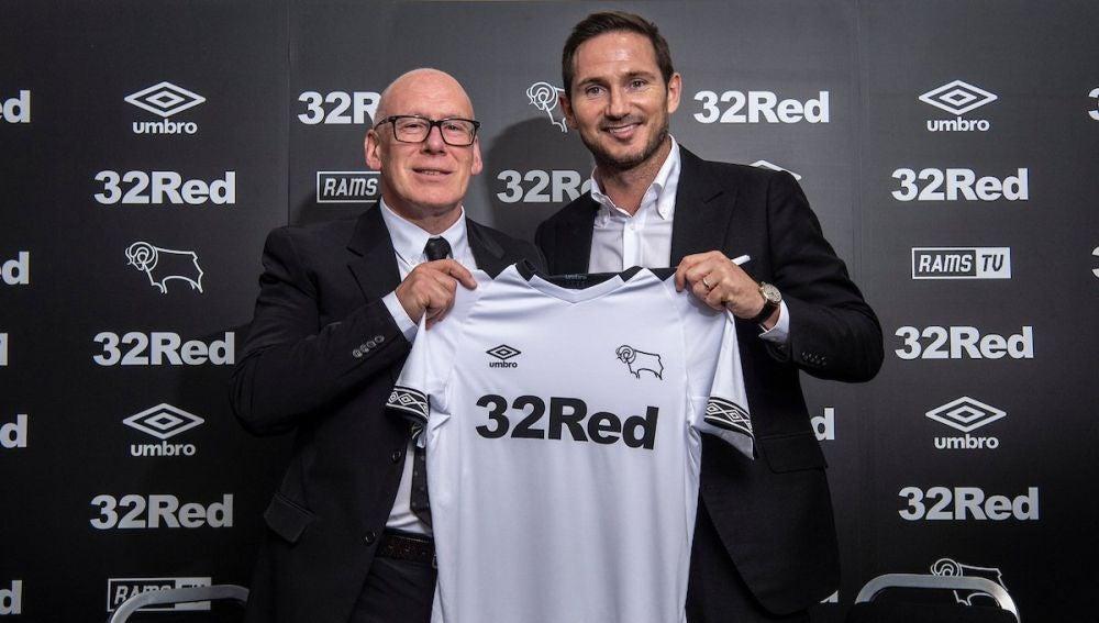 Lampard, nuevo entrenador del Derby County