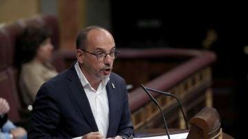 Carles Campuzano en el debate de la moción de censura
