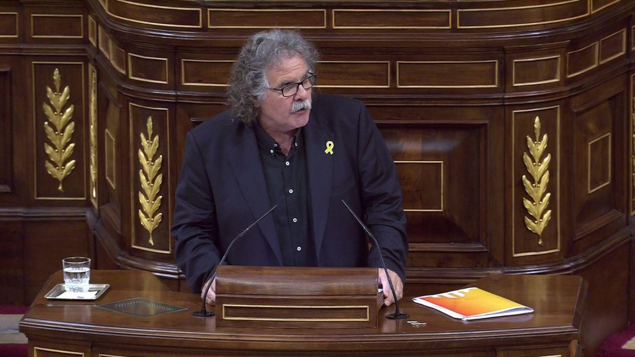 Joan Tardá, en el Congreso de los Diputados.