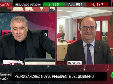 """Miquel Iceta: """"Hay que apostar por la estabilidad. No podemos añadir la incertidumbre de unas elecciones"""""""
