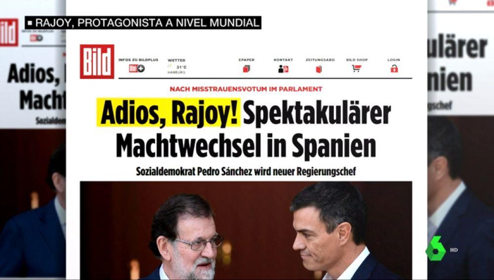Rajoy, un protagonista a nivel internacional: así vivieron las televisiones de todo el mundo el fin de su mandato