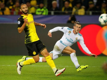 Bale, ante el Dortmund