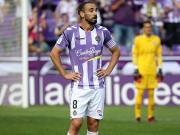 Borja Fernández, capitán del Valladolid.
