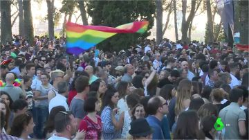 <p>Día grande en Badajoz: la fiesta de Los Palomos sigue reivindicando los derechos LGTBI en su octava edición</p>
