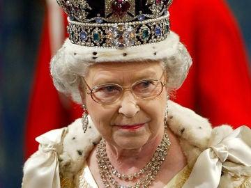 Imagen de archivo de la reina Isabel II