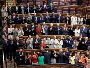 El BOE publica el nombramiento de Pedro Sánchez y el cese del Gobierno