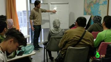 Una de las clases que se imparten en el 'Victoria Social Center'