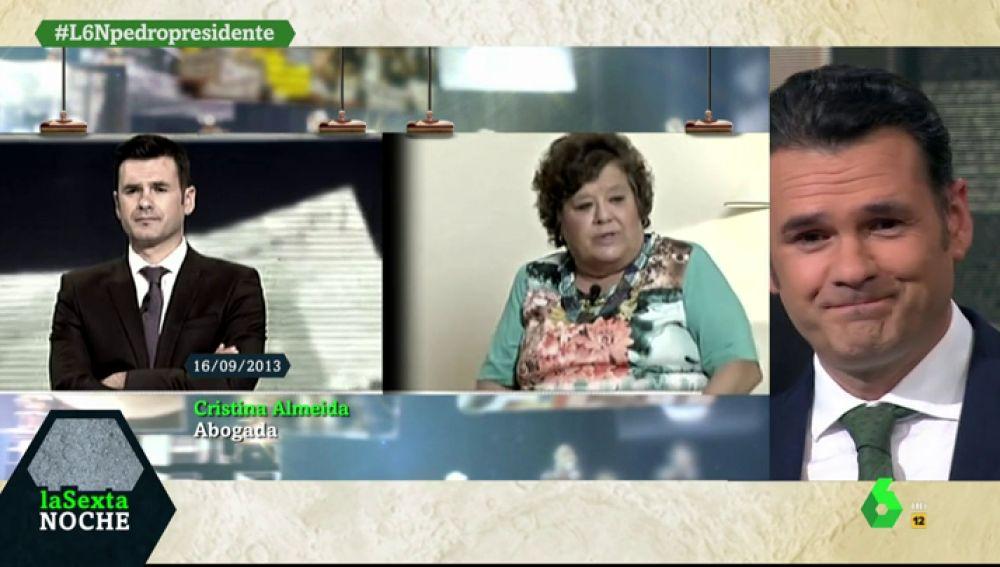 """<p>Así ha cambiado Iñaki López en cinco años en laSexta Noche: """"Parezco el pequeño Roke""""</p>"""
