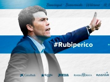 Rubi, nuevo técnico del Espanyol