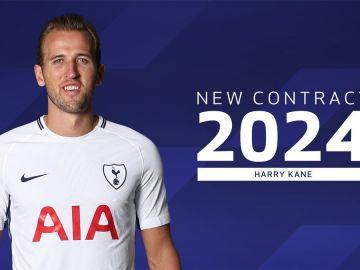 Harry Kane amplía su contrato con el Tottenham