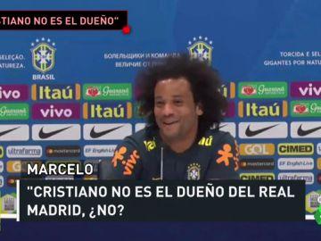 Marcelo abre la puerta a Neymar y manda un recado a Cristiano