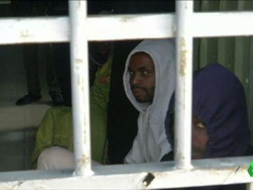 Tráficos de personas en Libia