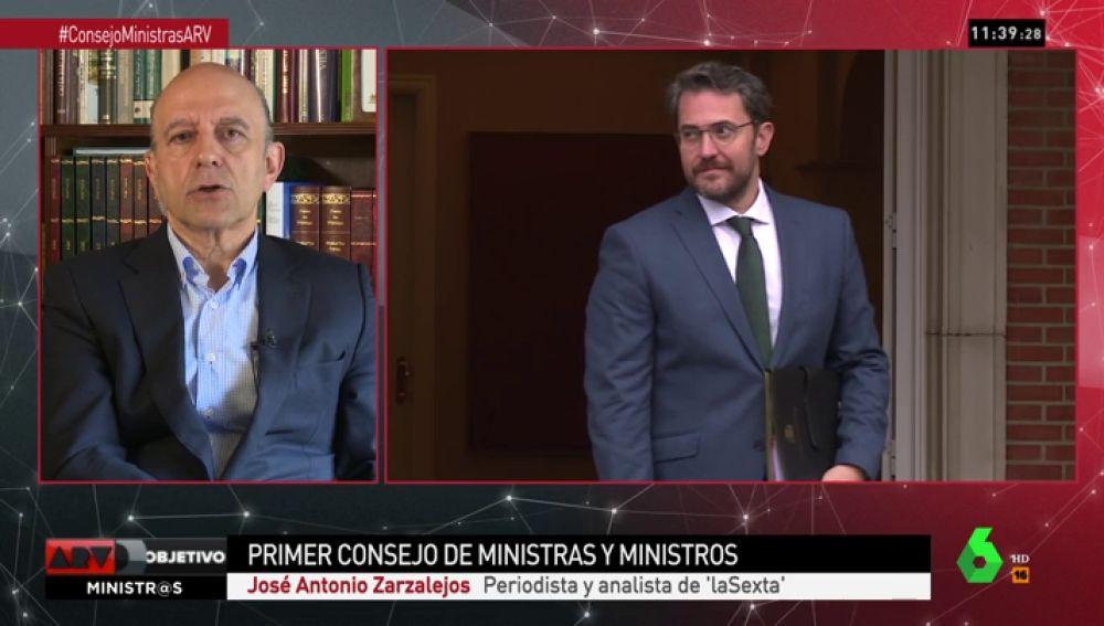 """José Antonio Zarzalejos: """"Podemos está herido, Ciudadanos descolocado, el PNV sorprendido y el PP fuera de combate"""""""