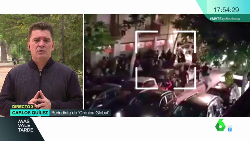"""Carlos Quílez, sobre el presunto asesino de Laia: """"Sufría brotes de violencia cuando estaba colocado"""""""