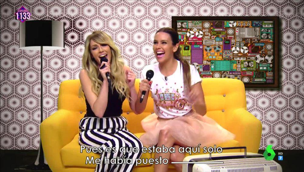 Anna Simon y Cristina Pedroche, convertidas en 'Las Ridis', arrasan en el 'Karaoke incompleto'