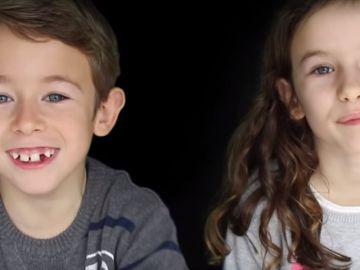 Marc y Paula, los niños protagonistas del documental