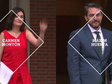 Conocemos a los nuevos ministros Carmen Montón y Màxim Huerta en laSexta Noche