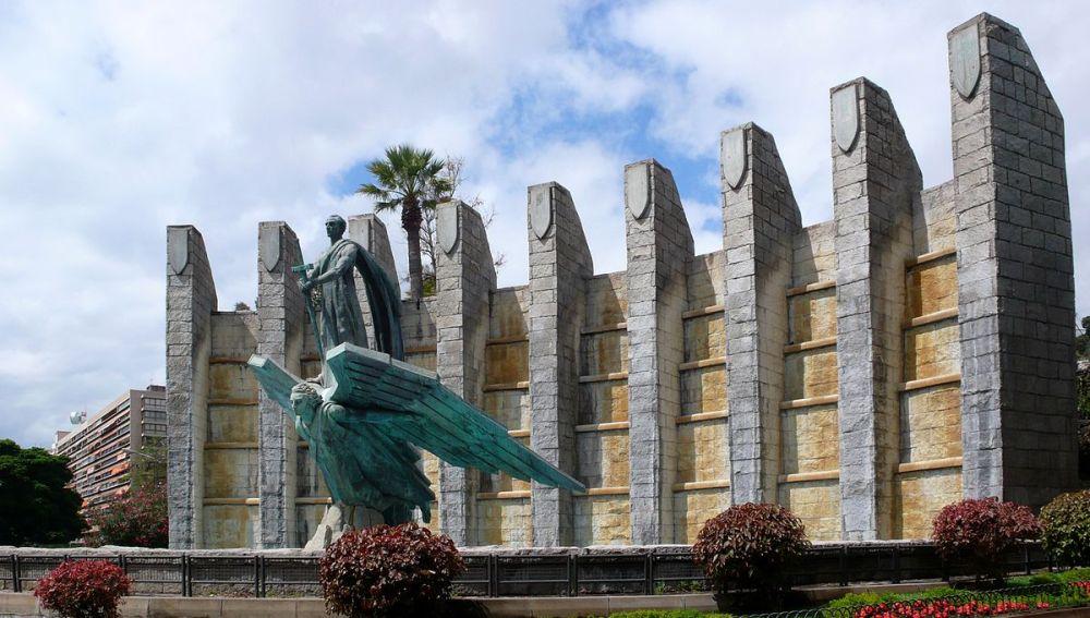 Monumento a la Victoria, conocido por el Monumento a Franco, de Tenerife