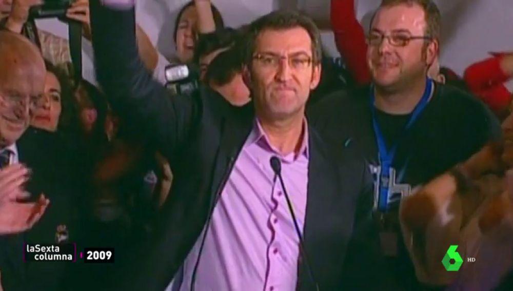 De esconderse en el Gobierno de Aznar a presidir Galicia: así fue el ascenso político de Feijóo