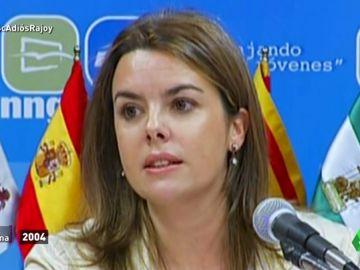 De destacar en las NNGG del PP a ser la mano derecha de Rajoy: el ascenso meteórico de Sáenz de Santamaría