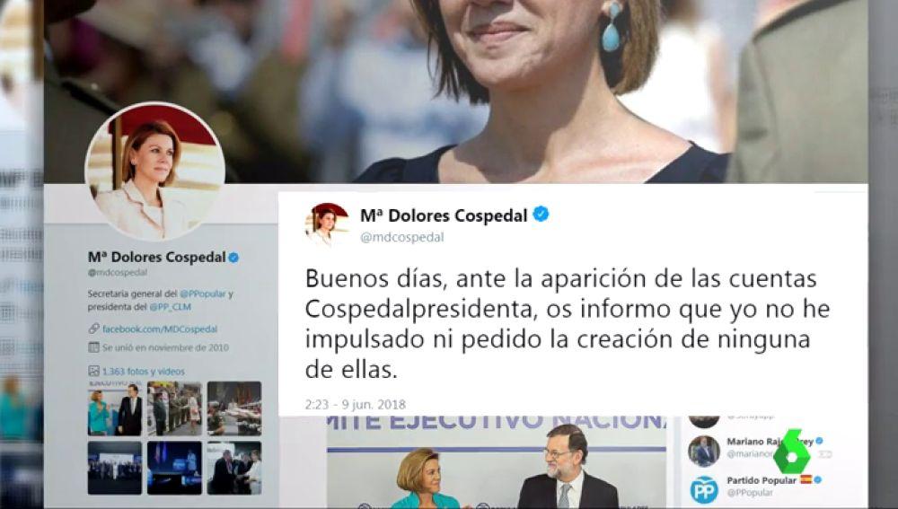Primeras plataformas de apoyo a las candidaturas de Cospedal y Santamaría para sustituir a Rajoy al frente del PP