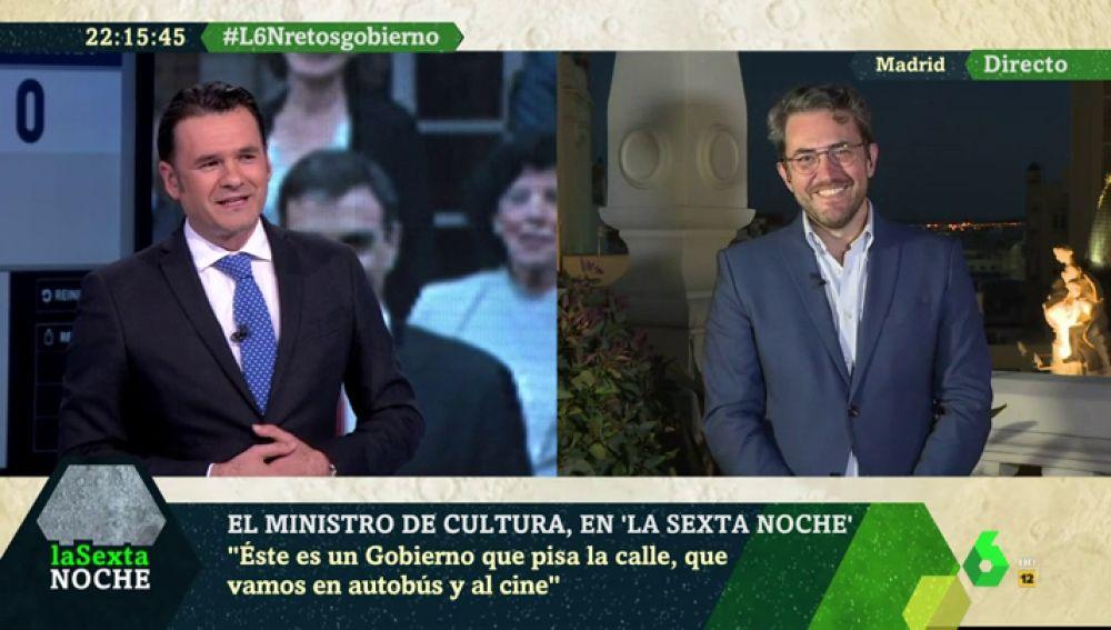 Iñaki López desvela en laSexta Noche que Màxim Huerta fue su casero