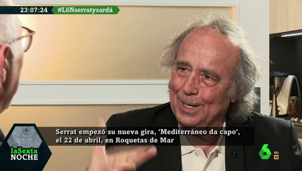 Joan Manuel Serrat responde a Xavier Sardà