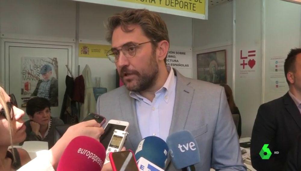 """El ministro Màxim Huerta avanza que """"seguramente"""" una mujer ocupará la secretaría de Estado de Deporte"""