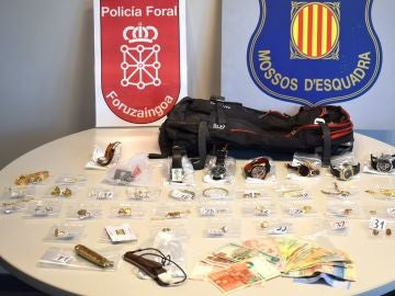 Imagen decida por la Policía Foral de Navarra