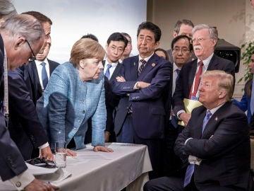Reunión del G7 en Canadá