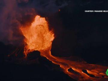 Más de seiscientas casas destruidas en Hawái por los ríos de lava procedentes del volcán Kilauea