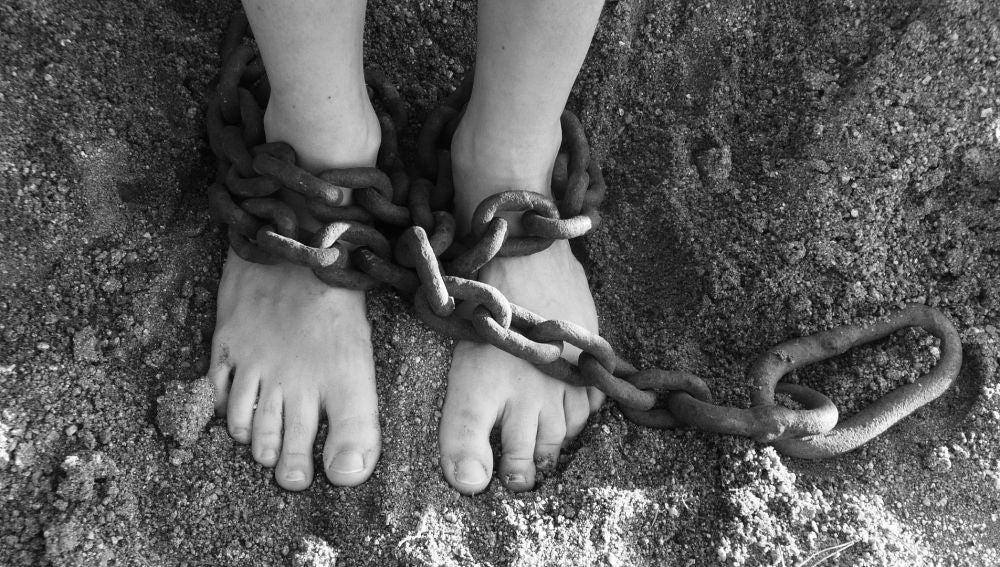 Imagen de archivo de una esclava