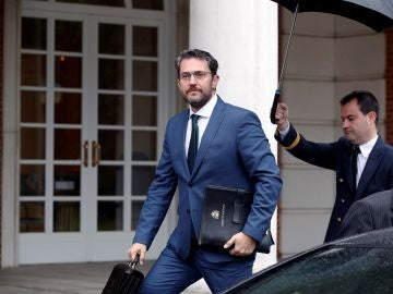 El ministro de Cultura y Deportes, Màxim Huerta