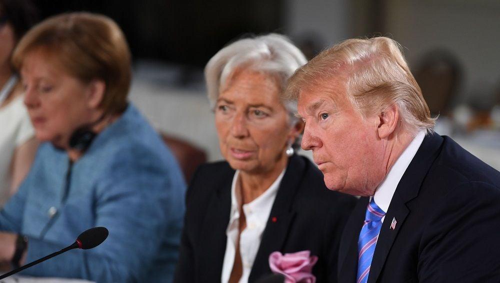 Representantes en la cumbre del G7